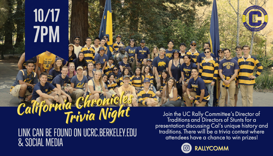 California Chronicles Trivia Night