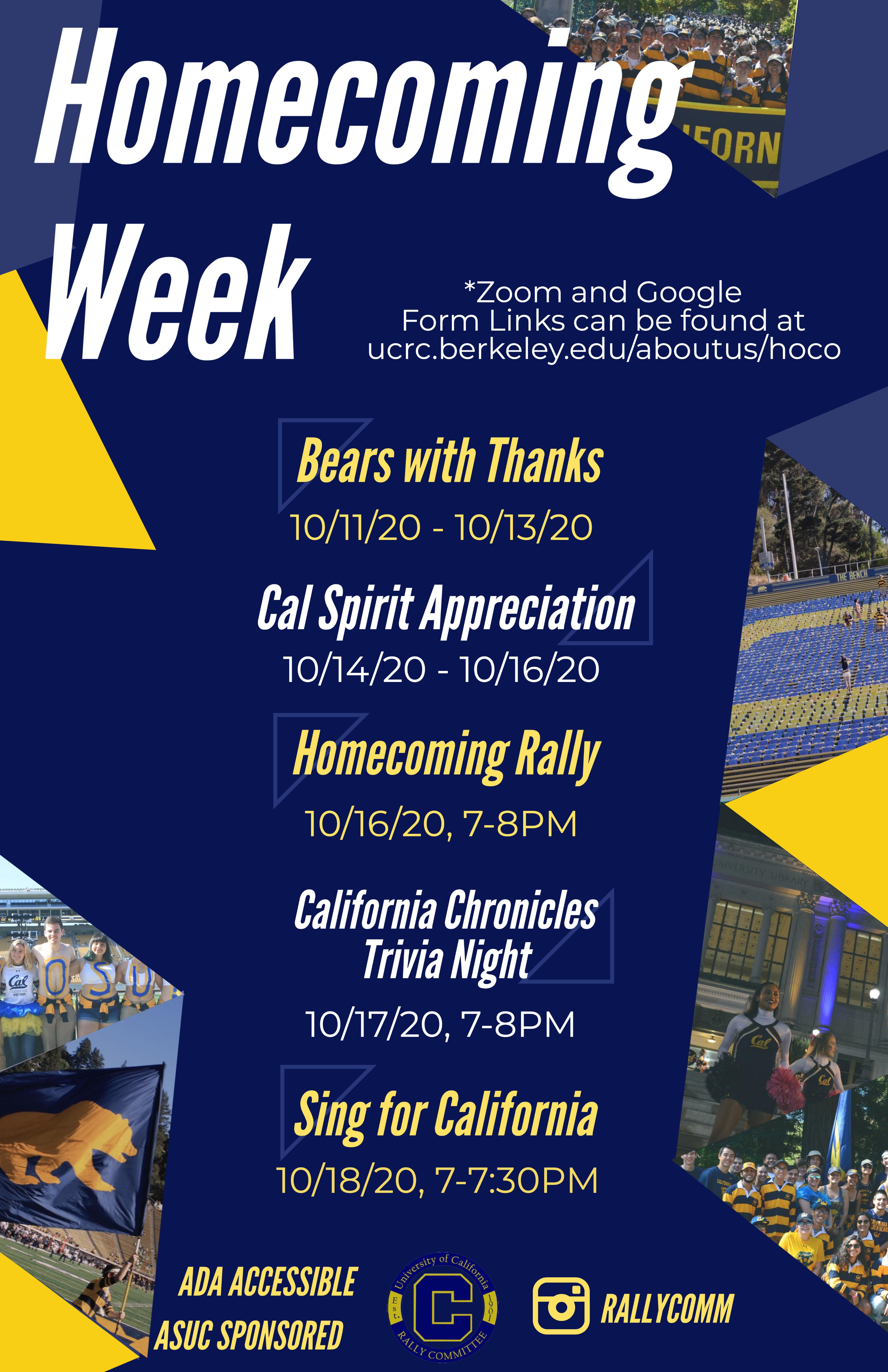 Homecoming Week Poster 2020